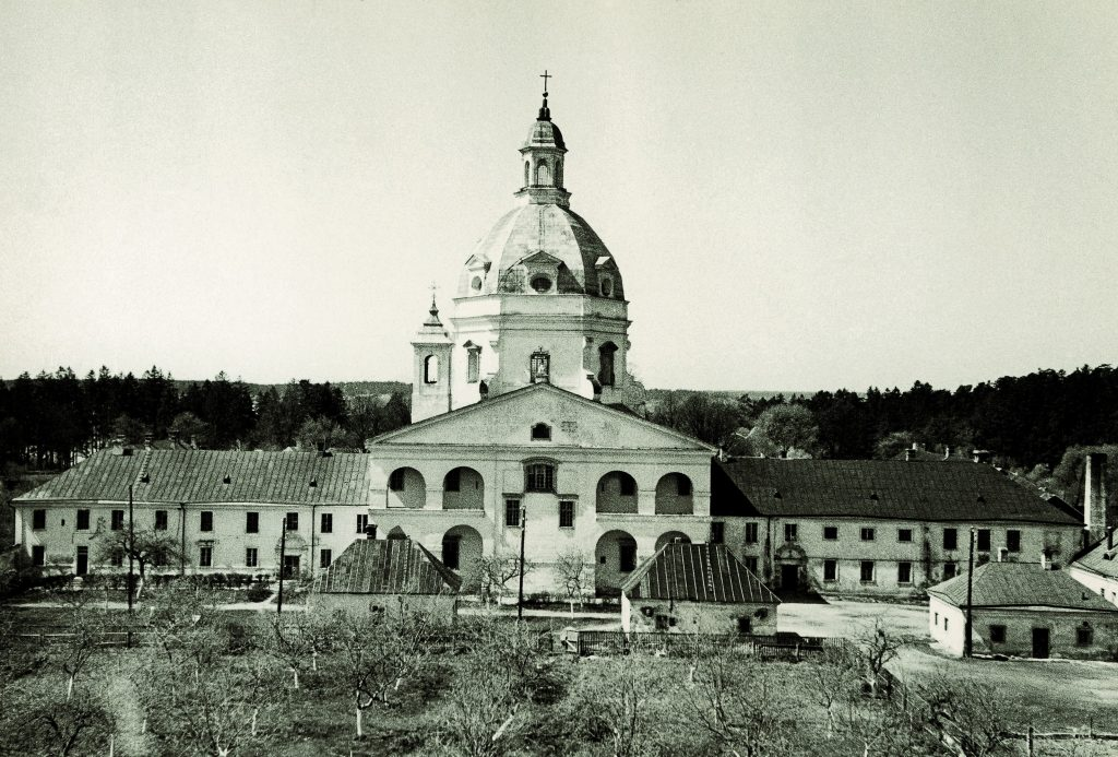 Pažaislis. Ričardas Vaitiekūnas had a studio at the left side of the ensemble in 1967–1976. Photograph: Mečislovas Sakalauskas